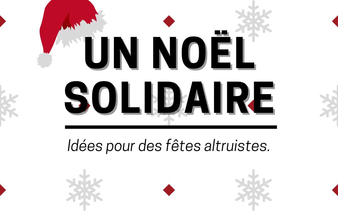 Pour un Noël solidaire !